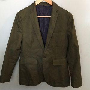 Other - J. Crew blazer army green